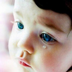 E quando a criança apresenta lacrimejamento?