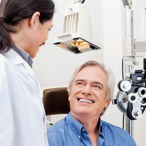 O que seu médico quer dizer quando avalia sua visão?