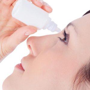 Recomendações para o uso de colírios